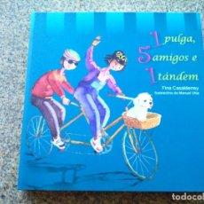Libros de segunda mano: 1 PULGA, 5 AMIGOS E 1 TANDEM -- FINA CASALDERREY -- CONCELLO DE PONTEVEDRA 2009 --. Lote 234562480