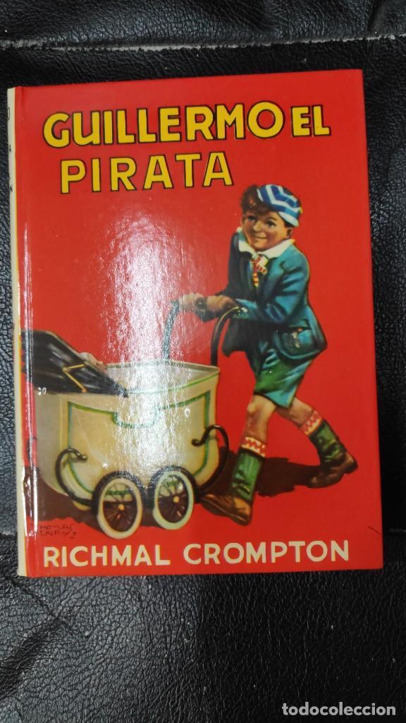 GUILLERMO EL PIRATA RICHMAL CROMPTON AÑO 1980 EDITORIAL MOLINO (Libros de Segunda Mano - Literatura Infantil y Juvenil - Novela)
