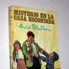 Libros de segunda mano: MISTERIO EN LA CASA ESCONDIDA. ENID BLYTON. MOLINO, 1969. COL. AVENTURA, Nº 27. NOIQUET, ABBEY. Lote 235793385