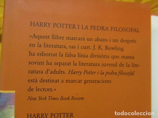 Libros de segunda mano: HARRY POTTER I LA PEDRA FILOSOFAL - J. K. ROWLING - EMPÚRIES - Foto 4 - 263100580