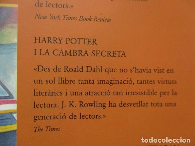 Libros de segunda mano: HARRY POTTER I LA PEDRA FILOSOFAL - J. K. ROWLING - EMPÚRIES - Foto 5 - 263100580