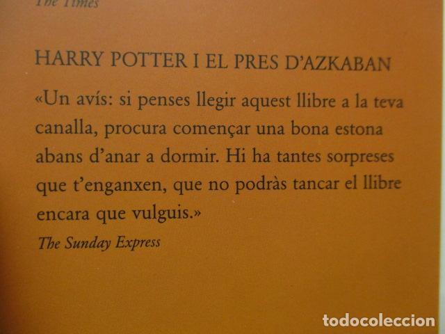 Libros de segunda mano: HARRY POTTER I LA PEDRA FILOSOFAL - J. K. ROWLING - EMPÚRIES - Foto 6 - 263100580