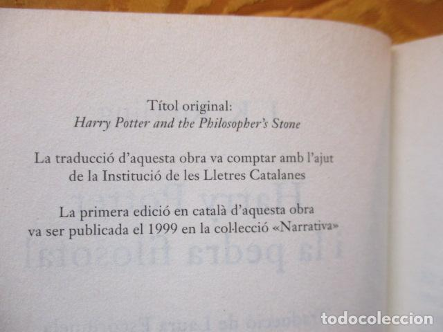 Libros de segunda mano: HARRY POTTER I LA PEDRA FILOSOFAL - J. K. ROWLING - EMPÚRIES - Foto 8 - 263100580