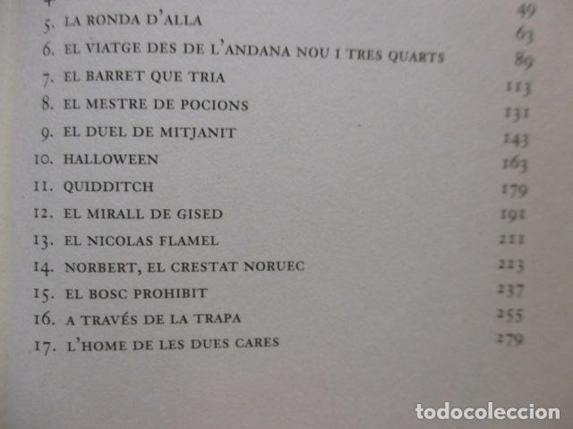Libros de segunda mano: HARRY POTTER I LA PEDRA FILOSOFAL - J. K. ROWLING - EMPÚRIES - Foto 11 - 263100580