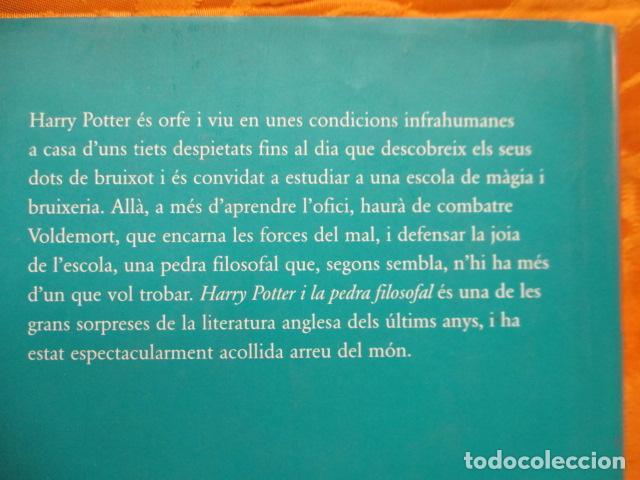 Libros de segunda mano: HARRY POTTER I LA PEDRA FILOSOFAL - J. K. ROWLING - EMPÚRIES - Foto 13 - 263100580