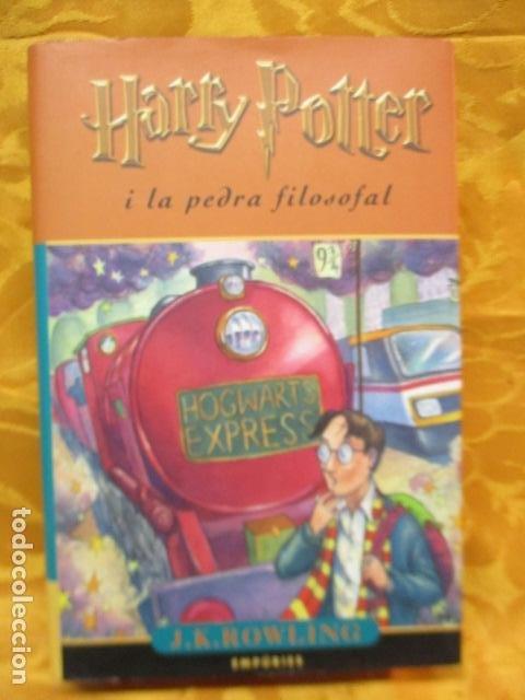 HARRY POTTER I LA PEDRA FILOSOFAL - J. K. ROWLING - EMPÚRIES (Libros de Segunda Mano - Literatura Infantil y Juvenil - Novela)