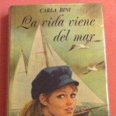 Libros de segunda mano: LA VIDA VIENE DEL MAR. CARLA BINI . N - 37. COLECCION VIOLETA. ED MOLINO. 1972. Lote 236823560