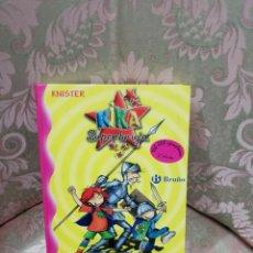 Libros de segunda mano: KIKA SUPERBRUJA Y DON QUIJOTE DE LA MANCHA - KNISTER - BRUÑO 2005. Lote 236836450