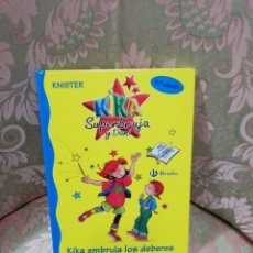 Libros de segunda mano: KIKA SUPERBRUJA Y DANI - KIKA EMBRUJA LOS DEBERES - KNISTER - BRUÑO 2003. Lote 236836585