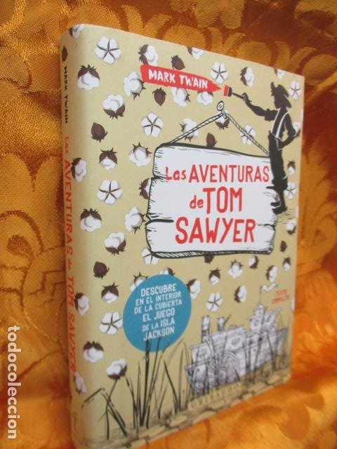 Libros de segunda mano: MARK TWAIN - LAS AVENTURAS DE TOM SAWYER - GRIBAUDO - (incluye juego de la isla Jackson) NUEVO - Foto 2 - 236849170