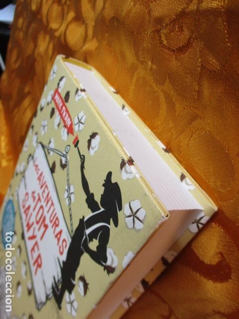 Libros de segunda mano: MARK TWAIN - LAS AVENTURAS DE TOM SAWYER - GRIBAUDO - (incluye juego de la isla Jackson) NUEVO - Foto 3 - 236849170