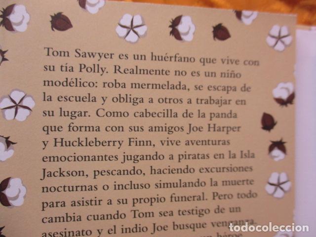 Libros de segunda mano: MARK TWAIN - LAS AVENTURAS DE TOM SAWYER - GRIBAUDO - (incluye juego de la isla Jackson) NUEVO - Foto 4 - 236849170