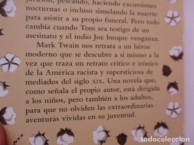 Libros de segunda mano: MARK TWAIN - LAS AVENTURAS DE TOM SAWYER - GRIBAUDO - (incluye juego de la isla Jackson) NUEVO - Foto 5 - 236849170