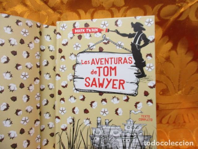 Libros de segunda mano: MARK TWAIN - LAS AVENTURAS DE TOM SAWYER - GRIBAUDO - (incluye juego de la isla Jackson) NUEVO - Foto 8 - 236849170