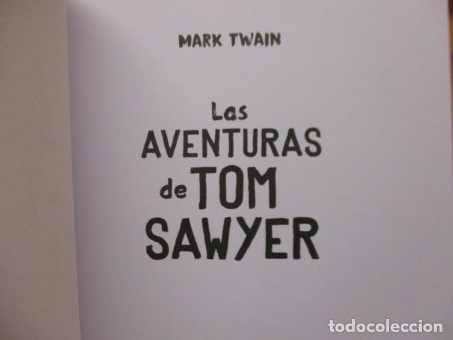 Libros de segunda mano: MARK TWAIN - LAS AVENTURAS DE TOM SAWYER - GRIBAUDO - (incluye juego de la isla Jackson) NUEVO - Foto 11 - 236849170