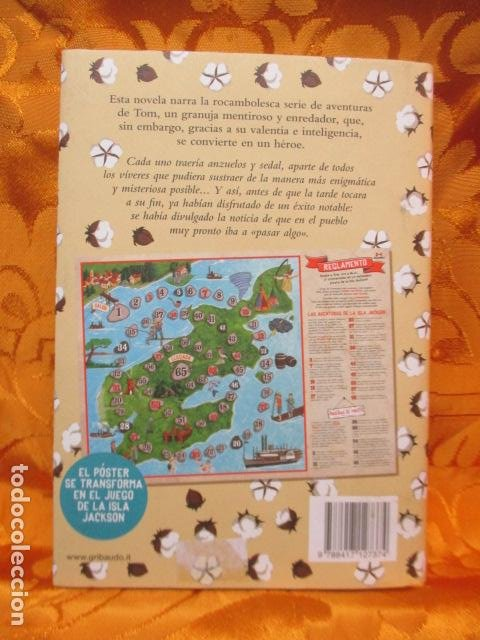 Libros de segunda mano: MARK TWAIN - LAS AVENTURAS DE TOM SAWYER - GRIBAUDO - (incluye juego de la isla Jackson) NUEVO - Foto 14 - 236849170