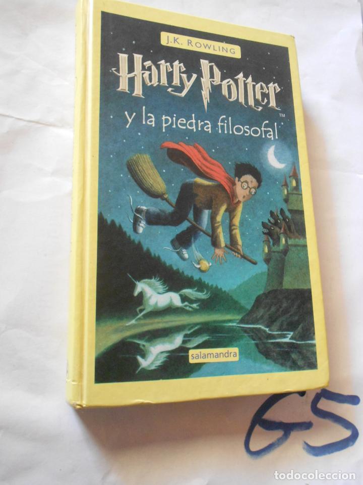 HARRY POTTER Y LA PIEDRA FILOSOFAL (Libros de Segunda Mano - Literatura Infantil y Juvenil - Novela)