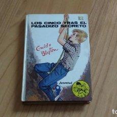 Livres d'occasion: LOS CINCO TRAS EL PASADIZO SECRETO -- ENID BLYTON -- EDITORIAL JUVENTUD, 1977. Lote 237091025