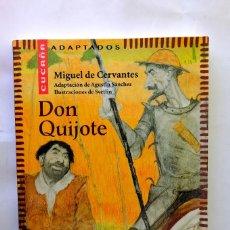 Libros de segunda mano: DON QUIJOTE DE LA MANCHA - CUCAÑA - ADAPTADOS. Lote 237408025