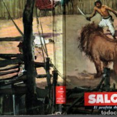 Libri di seconda mano: EMILIO SALGARI : EL PROFETA DEL SUDÁN (1956) EDITORIAL MOLINO. Lote 237694495