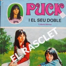 Libros de segunda mano: ANTIGÚO LIBRO DE EDICCIONES TORAY - PUCK I EL SEU DOBLE - Nº 18 - EDITADO EN CATALÁN. Lote 238071980