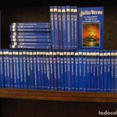 Libros de segunda mano: JULIO VERNE / LOTE DE 66 LIBROS / EDICIONES ORBIS OFERTA. Lote 240535085