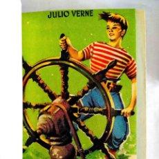 Libros de segunda mano: VERNE: UN CAPITÁN DE QUINCE AÑOS - ENCUADERNACIÓN EN PLENA PIEL. Lote 241631900