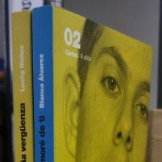Libros de segunda mano: PACK 2 LIBROS: EL CURSO EN QUE ME ENAMORÉ DE TI - BLANCA ÁLVAREZ Y ESA EXTRAÑA VERGÜENZA - LUCHY M.. Lote 241868305