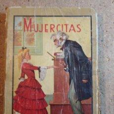Libros de segunda mano: LIBRO MUJERCITAS DE LUISA M. ALCOTT PRIMERA EDICION DEL AÑO 1943 DE EDITORIAL MOLINO. Lote 243033985