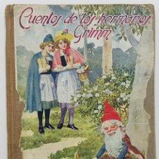 Libros de segunda mano: CUENTOS DE LOS HERMANOS GRIMM. 1942. EDITORIAL RAMON SOPENA.. Lote 243041115