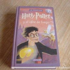 Libri di seconda mano: HARRY POTTER Y EL CÁLIZ DE FUEGO. J.K. ROWLING. SALAMANDRA. 2002. Lote 243167355