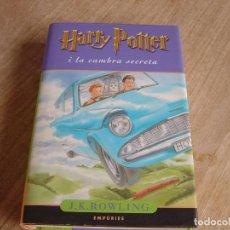 Libros de segunda mano: HARRY POTTER I LA CAMBRA SECRETA. J.K. ROWLING. EMPÚRIES. 2002. CATALÀ. Lote 243169235