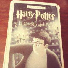 Libros de segunda mano: HARRY POTTER Y LA ORDEN DEL FENIX. Lote 243225850