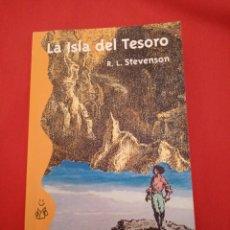 Libros de segunda mano: LA ISLA DEL TESORO, R.E.STEVENSON, (ALIANZA EDITORIAL). Lote 243349685