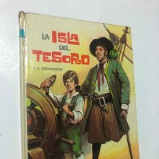 Libros de segunda mano: COLECCION AMABLE, N 7, AÑO 1973, LA ISLA DEL TESORO DE R. L. STEVENSON, EDITORIAL VASCO AMERICANA. Lote 243685695