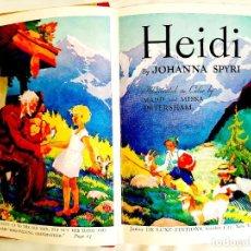Libros de segunda mano: 1955: HEIDI - NEW YORK, 1955. Lote 244563860