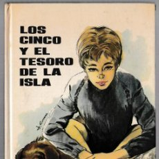 Libros de segunda mano: LOS CINCO Y EL TESORO DE LA ISLA - ENID BLYTON - JUVENTUD 1975 - 8ª EDICIÓN. Lote 244582400
