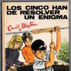 Libros de segunda mano: LOS CINCO HAN DE RESOLVER UN PROBLEMA - ENID BLYTON - JUVENTUD 1973 - 4ª EDICIÓN. Lote 244582955
