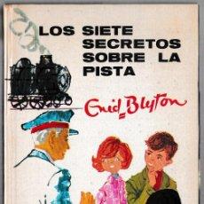 Libros de segunda mano: LOS SIETE SECRETOS SOBRE LA PISTA - ENID BLYTON - JUVENTUD 1969 - 3ª EDICIÓN. Lote 244585900