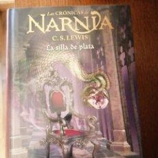 Libros de segunda mano: LAS CRONICAS DE NARNIA . LA SILLA DE PLATA. Lote 244632805