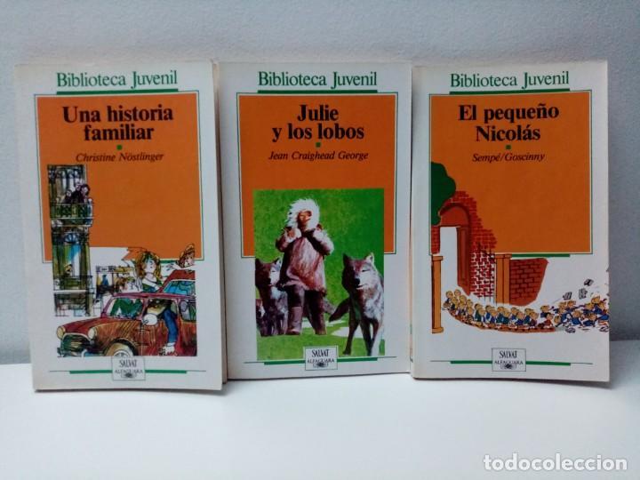 Libros de segunda mano: LOTE DE 13 LIBROS BIBLIOTECA JUVENIL SALVAT ALFAGUARA VER TITULOS Y NUMEROS - Foto 5 - 244736630