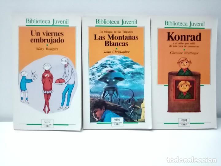 Libros de segunda mano: LOTE DE 13 LIBROS BIBLIOTECA JUVENIL SALVAT ALFAGUARA VER TITULOS Y NUMEROS - Foto 6 - 244736630