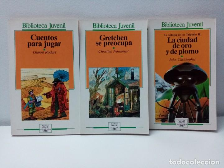 Libros de segunda mano: LOTE DE 13 LIBROS BIBLIOTECA JUVENIL SALVAT ALFAGUARA VER TITULOS Y NUMEROS - Foto 7 - 244736630