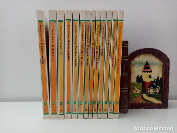LOTE DE 13 LIBROS BIBLIOTECA JUVENIL SALVAT ALFAGUARA VER TITULOS Y NUMEROS (Libros de Segunda Mano - Literatura Infantil y Juvenil - Novela)