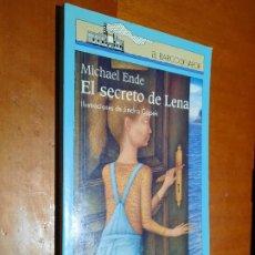 Libros de segunda mano: EL SECRETO DE LENA. MICHAEL ENDE. JINDRA CAPEK. BARCO DE PAPEL. RÚSTICA. BUEN ESTADO. Lote 244938515