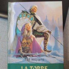 Libros de segunda mano: LA TORRE DEL ÁNGEL VERDE. TIMUN MAS. AÑORANZAS Y PESARES 4. TAD WILLIAMS. TIMUN MÁS. Lote 244972935