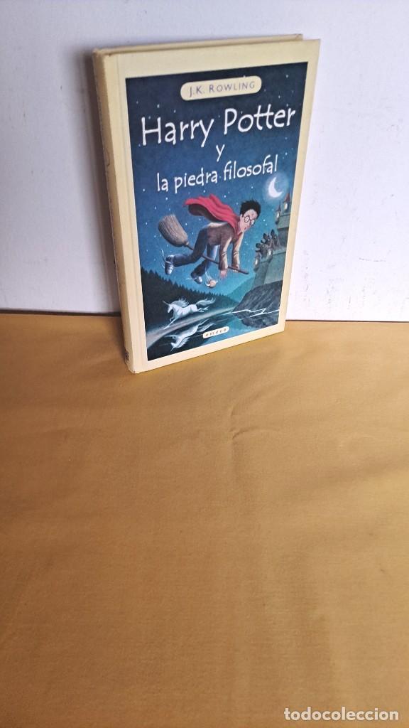 J.K.ROWLING - HARRY POTTER Y LA PIEDRA FILOSOFAL - EDICIONES EMECE 2000 (Libros de Segunda Mano - Literatura Infantil y Juvenil - Novela)
