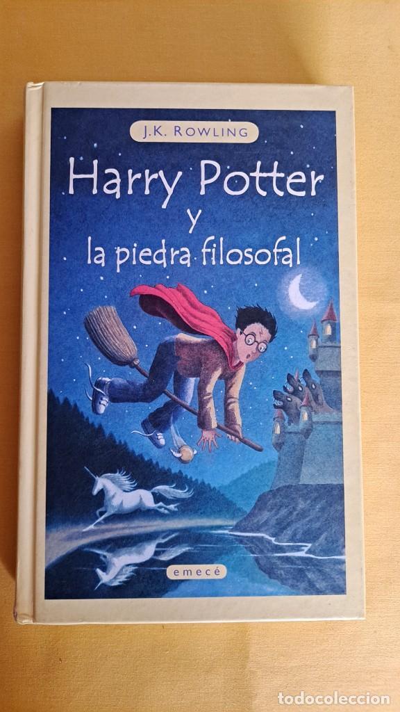 Libros de segunda mano: J.K.ROWLING - HARRY POTTER Y LA PIEDRA FILOSOFAL - EDICIONES EMECE 2000 - Foto 2 - 245238170