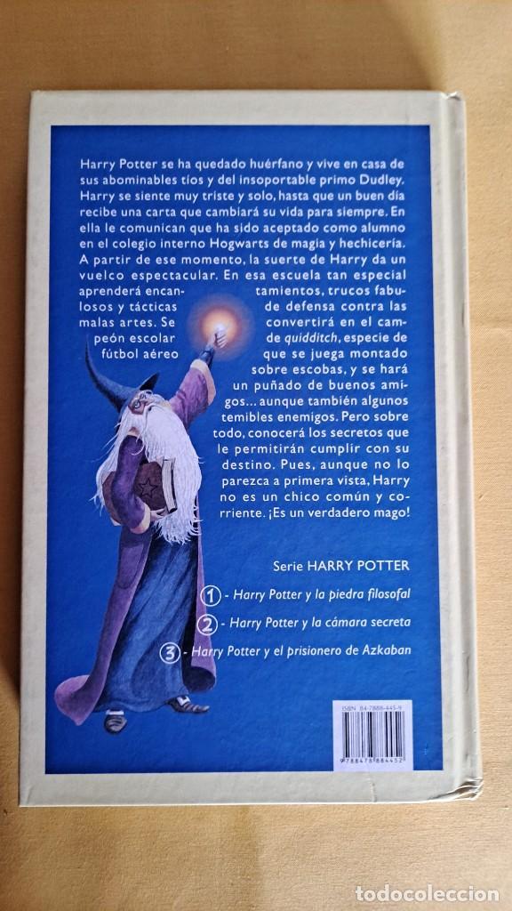 Libros de segunda mano: J.K.ROWLING - HARRY POTTER Y LA PIEDRA FILOSOFAL - EDICIONES EMECE 2000 - Foto 4 - 245238170