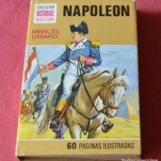 Libros de segunda mano: NAPOLEON - MARCEL D'ISARD - COLECCION HISTORIAS SELECCION - BRUGUERA. Lote 246138400